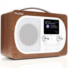 PURE EVOKE H4 WALNUT DAB+ RADIO PS5896 (PRPS5896)