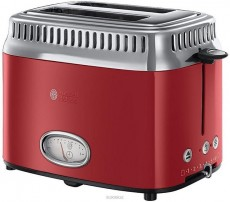 RUSSELL HOBBS TOASTER RED RETRO (RH2168056)