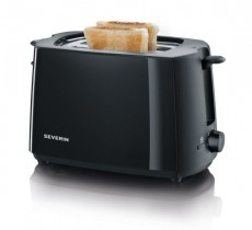 SEVERIN TOASTER ZWART AT2287 (SDAT2287)