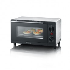 SEVERIN MINI OVEN 9L  ZILVER TO2052 (SDTO2052)