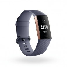 FITBIT CHARGE HR 3 ROSE GOLD BLUE (FICH3HRRGBL)