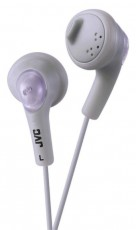 JVC GUMY HEADSET HA-F160 WHITE (JVHAF160WE)