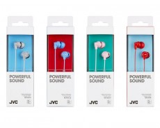 JVC IN EAR HEADPHONE HAFX10HE GREY (JVHAFX10HE)